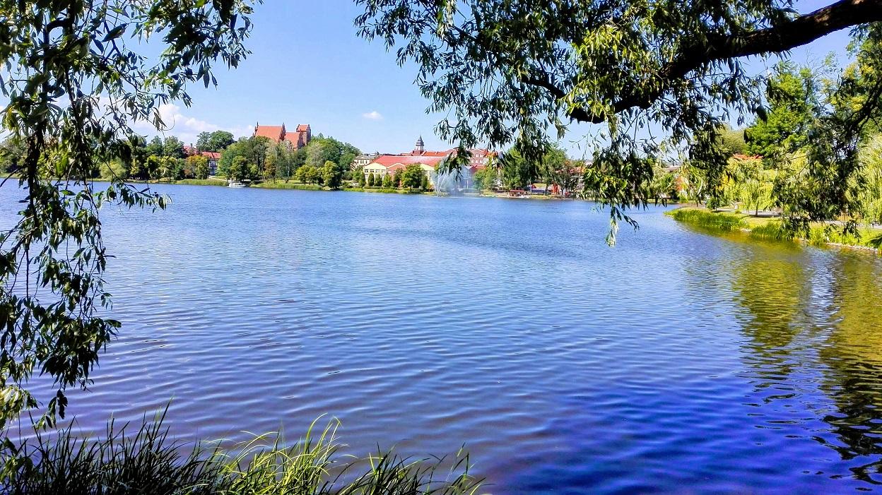 Iława - widok na miasto