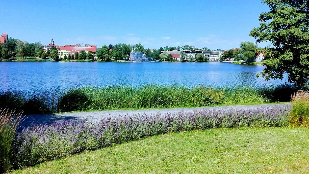 Iława - Widok na jezioro Mały Jeziorak